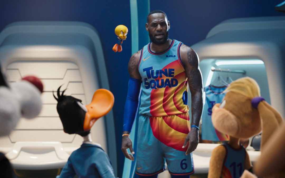 The Story Behind the Tune Squad and Goon Squad Jerseys Featured in 'Space Jam: A New Legacy'