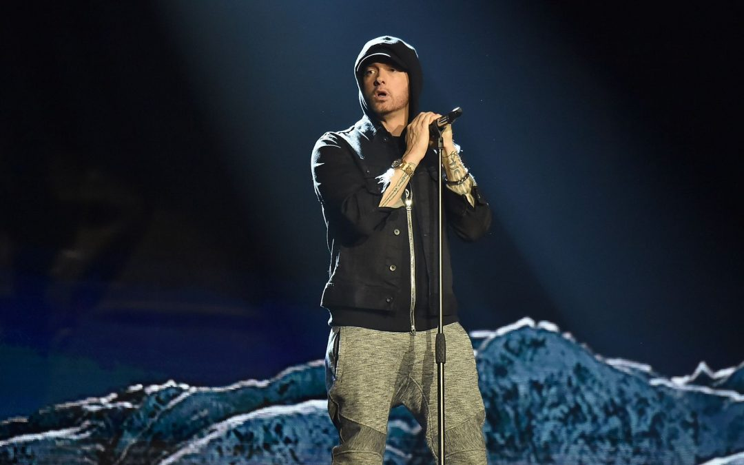 Eminem Mural in Detroit Defaced 1 Day After It Was Completed, Artist Says He Plans to Fix It